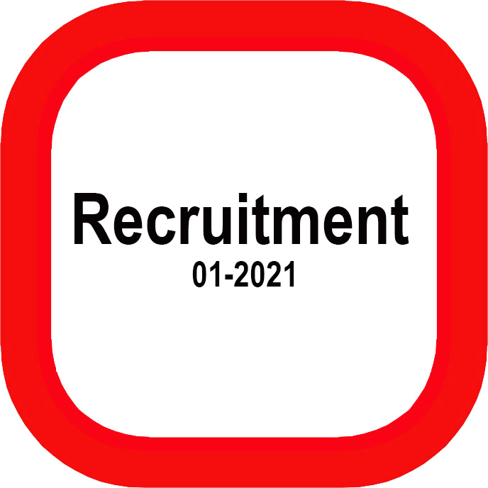 RECRUITMENT 2021-01