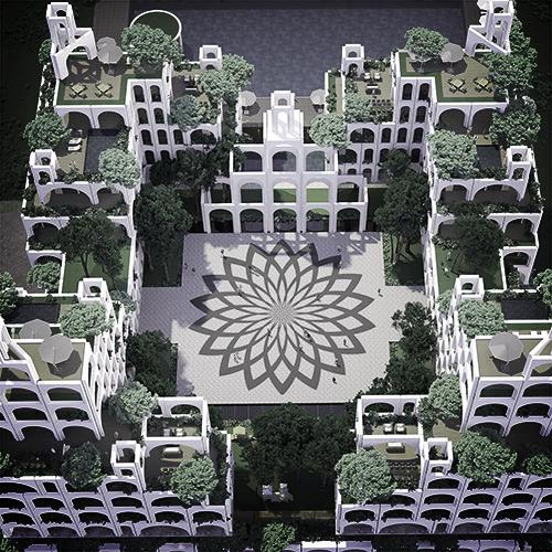 New Project  - Castel - Hanging Gardens of Babylon